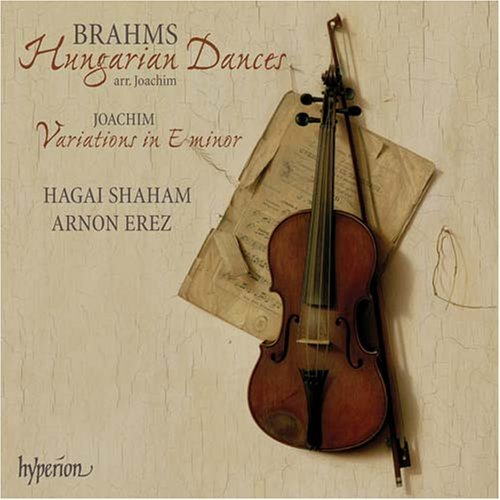 Brahms Dances CD Cover