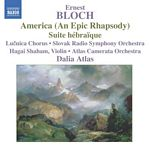 Bloch Suite Hebraique CD Cover