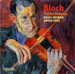 Bloch sonatas CD Cover