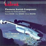 Viennese Jewish Composers CD Cover